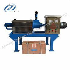 China duck dropping dewatering machine animal Manure dryer equipment on sale