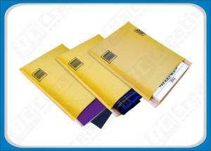 China Multitude Air Cellular Bubble Envelopes , Kraft Bubble Mailers with Hanging Holes on sale