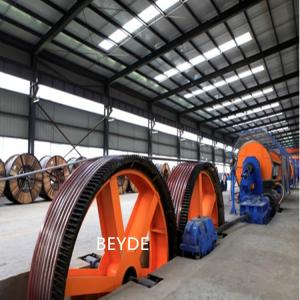 China Rigid Type Wire Stranding Machine For Low, Medium And Extra High Voltage (EHV) Power Cables on sale