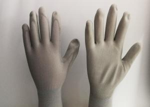 China Light Weight PU Coated Gloves High Durability Comfortable Hand Feeling on sale