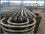 Sprial Double H Finned Tube Heat Exchanger Energy Saving For Boiler Parts
