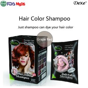 China ROYAL Hair Coloring Natural Brown Shampoo With No Ammonia Best Hair Colour Magic Henna Hair Dye on sale