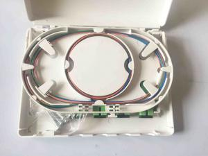 China Easy Installation Fiber Optic Termination Box , 4 Cores Cable Distribution Box on sale