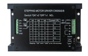 China Conducteur hybride de moteur pas à pas de commande numérique par ordinateur de Microstepping pour la machine de gravure 20 | 60V on sale