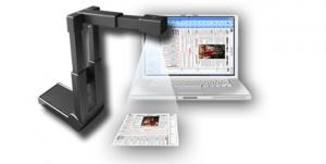 China Eloam A4 High Speed document scanner with 2 mega pixel camera for book, 3D objects on sale