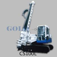 The CS100D/150D Ring-Shaped DTH drill rig