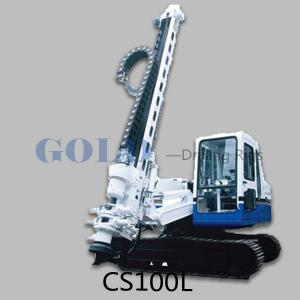 China The CS100D/150D DTH drill rig with casing on sale