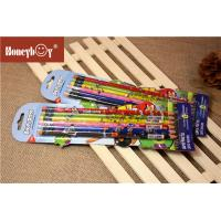 Custom Printed Shrink Film Pencil  Personalized LOGO School 2B HB Lead Wooden Pencil With Eraser