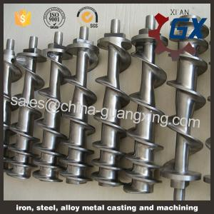 China single screw of extruder/plastic extrusion/pp pe film extruder single screw on sale