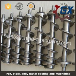China single screw of extruder/plastic extrusion/pp pe film extruder single screw on sale