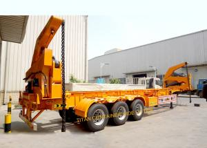 China TITAN container side Loading Sidelifter semi trailer 37 ton capacity on sale