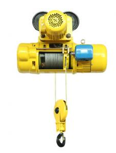China Lifting Goods Electric Wire Rope Hoist Leading Crane With Customized Color on sale
