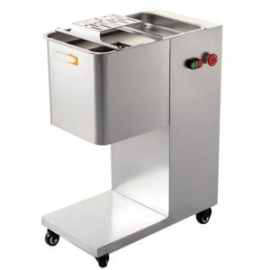 China Electric Fresh Pork Meat Cutting Machine Slicer High Efficiency 500KG Output on sale