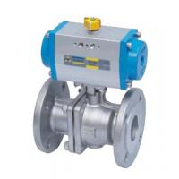Double Acting Actutator Stainless Steel Flanged Ball Valve