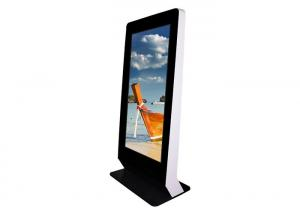 China Exhibition Halls Indoor Digital Signage Kiosk Remote Control Function Anti - Dust on sale