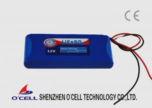 China bloco da bateria do íon Lifepo4 do lítio de 12V 3.0Ah para câmaras de vigilância, detectores infravermelhos on sale