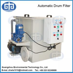 China Fish Farm Automatic Rotary Drum Filter on sale