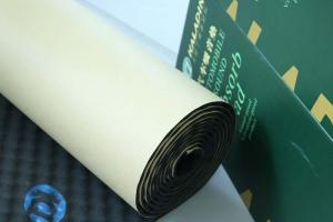 China Easy Install Sound Absorption Pad Self - Adhesive 8mm Closed Cell Rubber Foam on sale