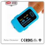 China Pressure Oxygen Finger Pulse Oximeter Oxymeter LED Blood SPO2 PR Monitor/blood oxygen monitor wholesale