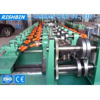 Hot Rolled Coils C Z Section Steel Purlin Roll Forming Machine 45 ﹟ Steel Shaft