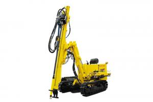China CM358A Crawler Mounted Hydraulic DTH Drilling Rig on sale