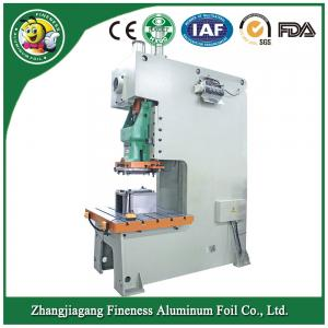 China Disposable plastic aluminum foil food container making machine on sale
