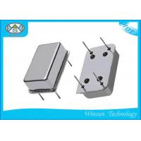 Silver 125 Mhz Crystal Oscillator , SMD / DIP Quartz Crystal Oscillator