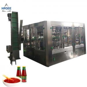 China Automatic tomato chilli sauce filling machine, sweet soya sauce barbecue paste mustard mayonnaise sauce filler on sale