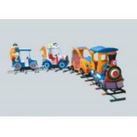 China Amusement Park Train Rides , Battery Powered Ride On Train With Track For Toddlers on sale