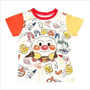 China Latest Design Graffiti Shirts Organic Cotton Kids T Shirt Custom on sale