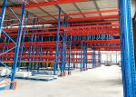 Storehouse Very Narrow Aisle Racking Adjustable Width 2300-3500mm Blue Coated