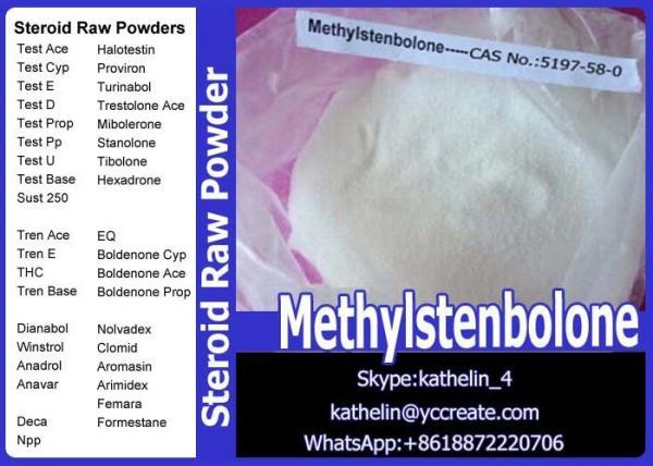 CAS 5197-58-0 Tren Anabolic Steroid Hormone Raw Powder