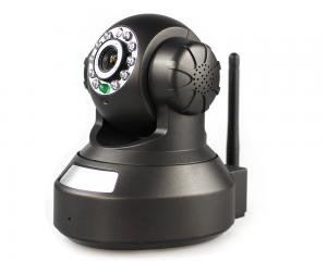 China 1.0 Megapixel CMOS Wireless WIFI IP Camera Infrared black security cam CCTV on sale