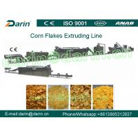 Full Automation Corn Flakes Processing Machine Stable Large Capacity