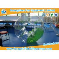 Green Half Color Adults Inflatable Bubble Ball Heat sealed For Soccer Bubble Club