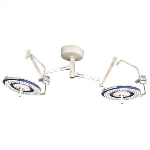 China 160000lux led surgical light with ceiling mounted double dome on sale