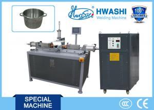 China Inox Stainless Steel Spot Welding , Cookware Pan Bracket Spot Welding Machine on sale