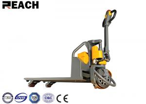 China Lithium Battery Operated Warehouse Forklift Trucks 1500kg Small Turning Radius on sale