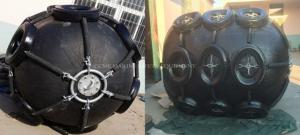 China Marine Pneumatic Inflatable Rubber Fender  60% compression initial pressure 0.05MPa on sale