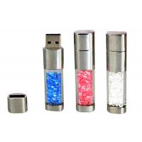 China Fashion Crystal Acrylic 8GB USB Flash Drive 2.0 to 3.0 Filled With Crystals on sale