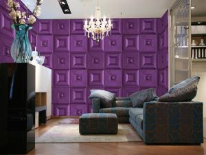 Quality Custom Decorative Wall Decals Eco Friendly Wallpaper Panel For Home Decor