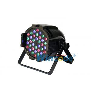China 36pcs 3W RGB LED Par Light With Linear Dimming For Stage Performance System,  Theatrical Performances on sale