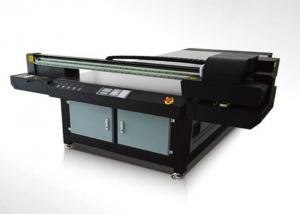 China Wide Format Digital UV Curable Printer With UV Curable Inks CE on sale