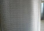 1mm Thick Expanded Metal Grating , 2.5mm - 50mm SWM Expanded Sheet Metal Mesh