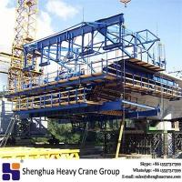 Chinese 450t travel form traveller bridge free cantilever construction method building machine