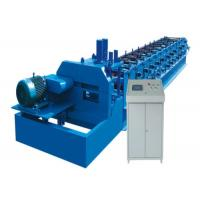 """Light Metal C Z Steel Stud Roll Forming Machine 2"""" Chains With Diameter 80mm"""
