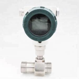 China Gasoline Turbine Air Flow Meter Sensor 304 316L 321 Material With Pulse Output on sale