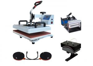 China 8 in 1 Combo T-shirt Sublimation Printing Machine Heat Press Transfer Baseball Hat Pressing Printer on sale