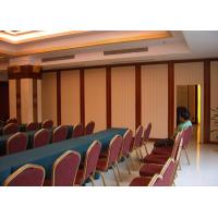 Sound Proof Aluminum Movable Restaurant Partition Wall Sliding Open Style