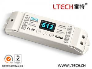 China LT-811-10A 1CH CV DMX Decoder (8/16 bits, Dimming dedicated, OLED Display) on sale